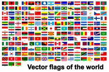 Flags Of The World Isolate On ...
