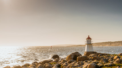 Ytre Hvaler, National Park, Park Narodowy, Hvaler, Norwegia, Norway, Norge, latarnia morska