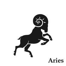 Aries Zodiac Sign Astrological...
