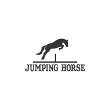 Jumping Horse Logo Design Inspiration