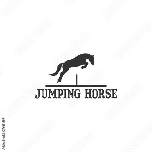 Fotografia Jumping Horse Logo Design Inspiration