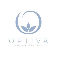 O Logo Design Template For Spa And Wellness