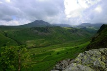 Esk Valley View To Scafell Pike