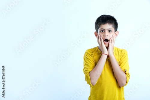 Fotografia, Obraz  cute indian child toothache expression