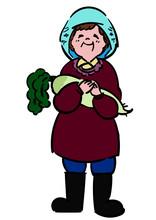 農業_おばあちゃん