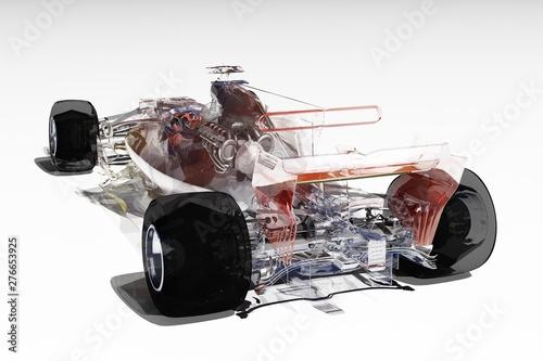 Aluminium Prints F1 Racing cars