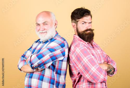 Fényképezés  Brutal guys with long beard