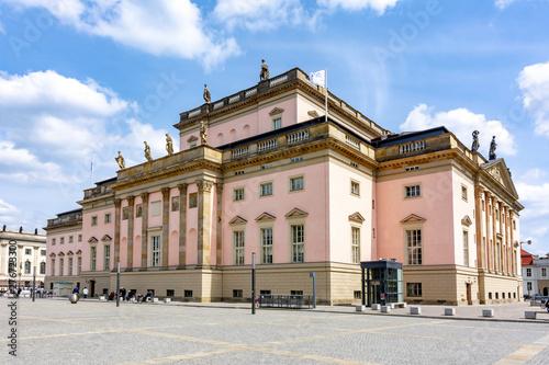 Leinwanddruck Bild - Mistervlad : Berlin State Opera (Staatsoper Unter den Linden), Germany