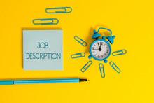 Word Writing Text Job Descript...