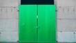 Leinwanddruck Bild - Grünes Tor