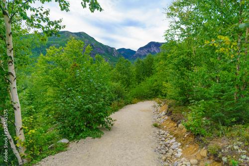 Photo La Chouenne Trail, in Grands-Jardins National Park, Quebec
