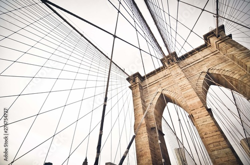 Foto auf Gartenposter Brooklyn Bridge brooklyn bridge
