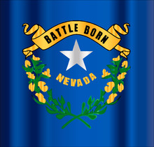 Battle Born Nevada State Flag ...