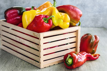 Fresh Bell Peppers.