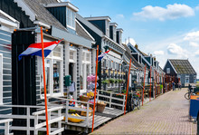 Hafenpromenade Marken Am Markermeer, Holland