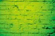 Leinwanddruck Bild - green painted stone background, Close up for design . trendy green color Guacamole