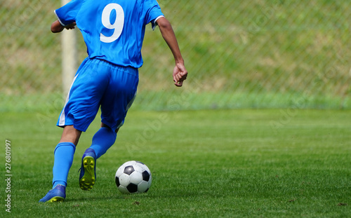 plakat サッカー フットボール