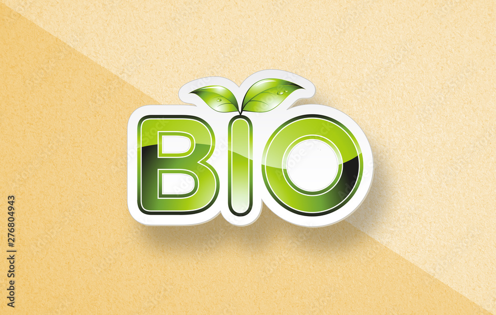 Fototapety, obrazy: Eco branding concept with word