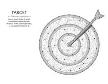 Target Low Poly Design, Arrow ...
