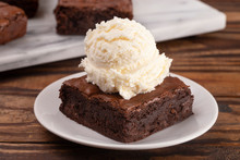 Double Chocolate Brownies Sund...