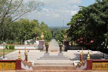 Wat Phraphutthabat Tak Pha, Pa Sang District, Lamphun, Northern Thailand.