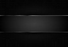 Black Abstract Background Patt...