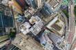 Top view of Hong Kong island