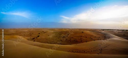 Sunset view to Sahara dune near Chinguetti in Mauritania Wallpaper Mural