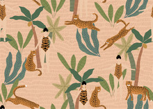 Summer Seamless Pattern With L...
