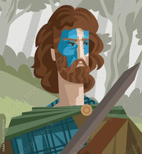 Fotografia, Obraz william wallace history scotland hero