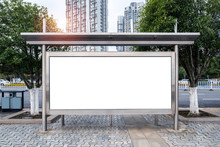 The Bus Stop Shelters And Adve...