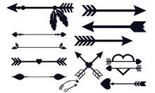 Arrow Decoration Collection Bl...