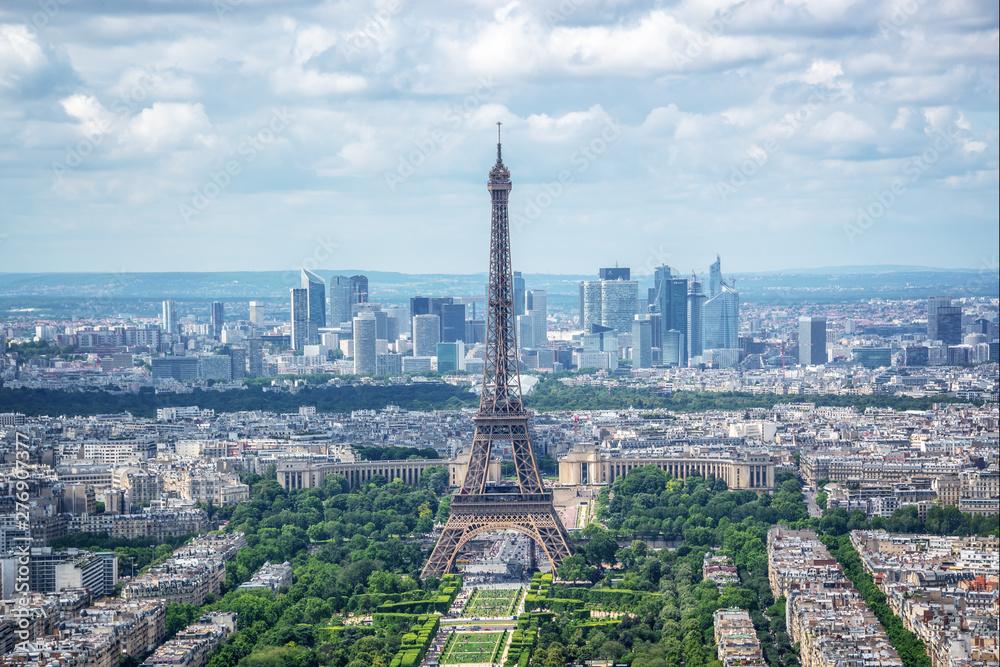 Fototapety, obrazy: Sceniczny widok Paryż