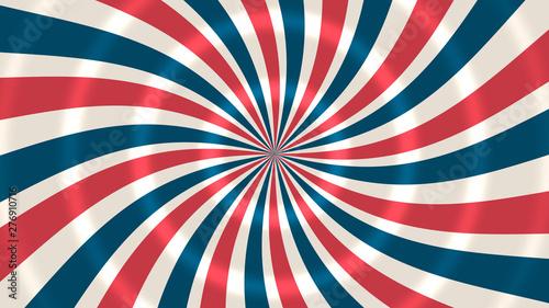 Poster Retro Grunge Patriotic Stars And Stripes