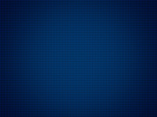 Blue Technology Background With Grid Line