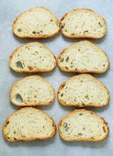 Homemade Bread Sliced Toasted Sandwich