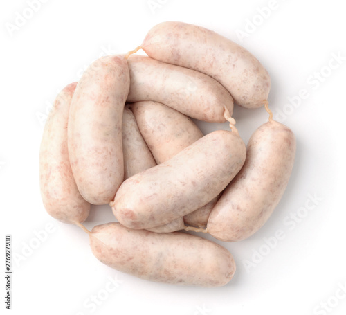 Photo Traditional bavarian white sausages