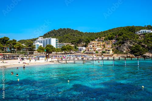 Poster de jardin Europe Méditérranéenne Playa De Camp De Mar, Andratx, Mallorca