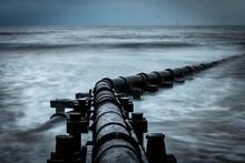 Corroded Iron Pipe, Sewage Pip...