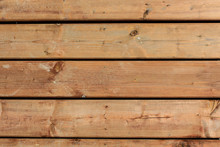 Natural Wood Board Plank Wall Panel Horizontal Shabby Texture. Wooden Color Vintage DIY Background. Reclaim Wood Surface. Hardwood Beige Floor Or Table Or Door Or Celling Structure. Closeup.