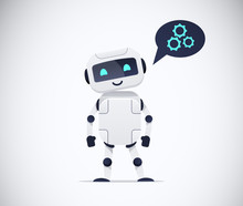 Smiling Standing  Chatbot