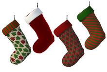 Set Of Santa / Christmas Stock...