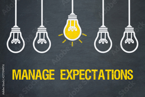 Photo Manage expectations