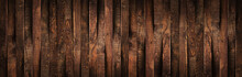 Wooden Rustic Brown Planks Tex...
