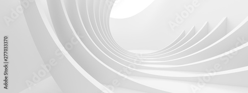 Abstract Monochrome Background. Minimal Futuristic Design - fototapety na wymiar