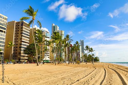 Praia de Boa Viagem, Recife, PE, Brasil Canvas Print