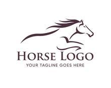 Creative Horse Elegant Logo Sy...