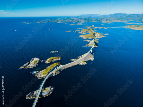 Foto The Atlantic Road in Norway