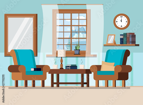 Peachy Cozy Home Living Room Interior Background Scene With Window Download Free Architecture Designs Fluibritishbridgeorg