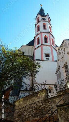 old church in cesky krumlov, czech republic